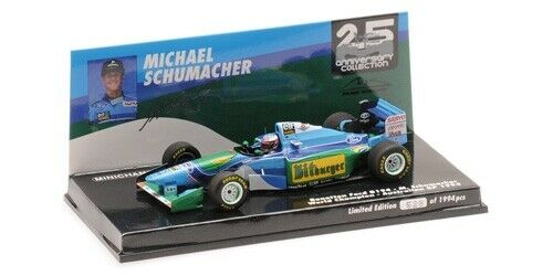 Minichamps Model 1 43 Benetton Ford B194 Schumacher Australian GP 1994  51794160