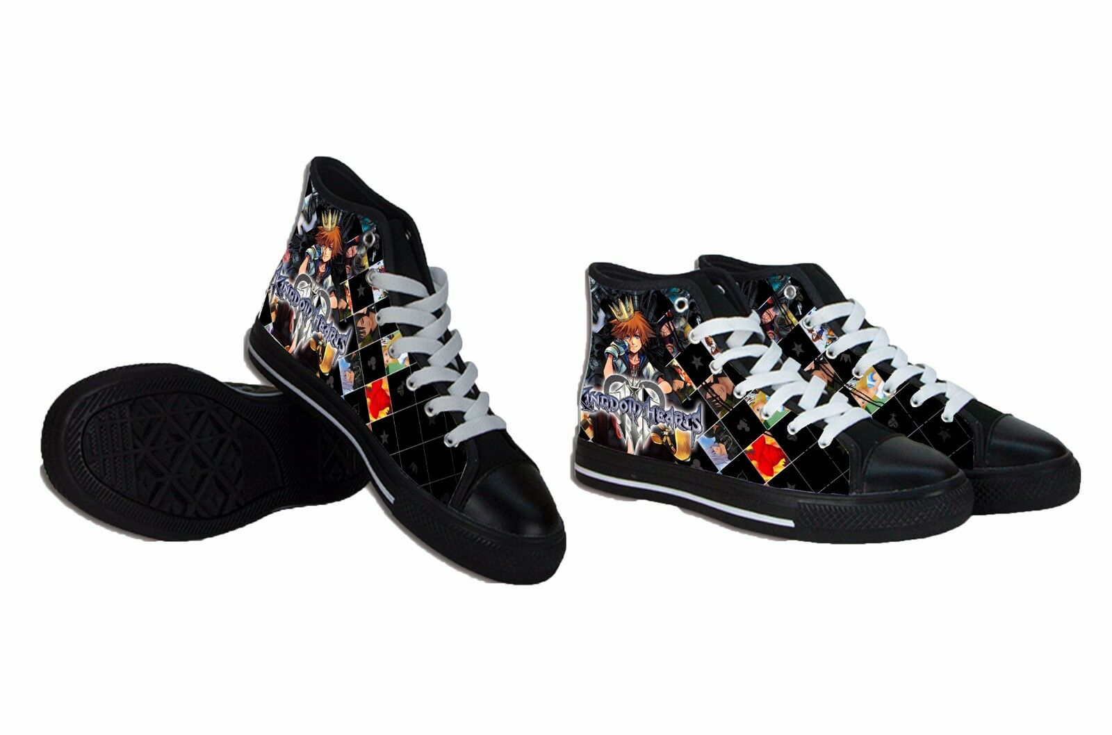 Man/Woman Kingdom Hearts Collection Casual Mens Shoes economic product quality Suitable for color