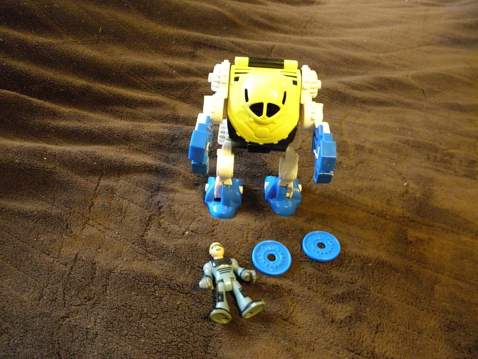 Fisher Price Imaginext Space Station Station Station Exoskeleton Robot Mi EUC HTF ec31b8