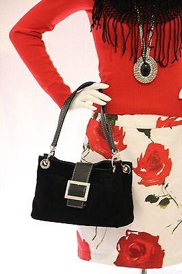 Damentasche Handtasche Tragetasche Schultertasche Ledertasche Wildleder Klein
