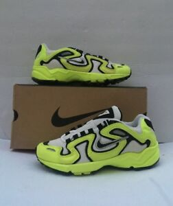 Details about Vintage Nike Air Perseus Size 7 Whiteblackneon Yellow 104108 101