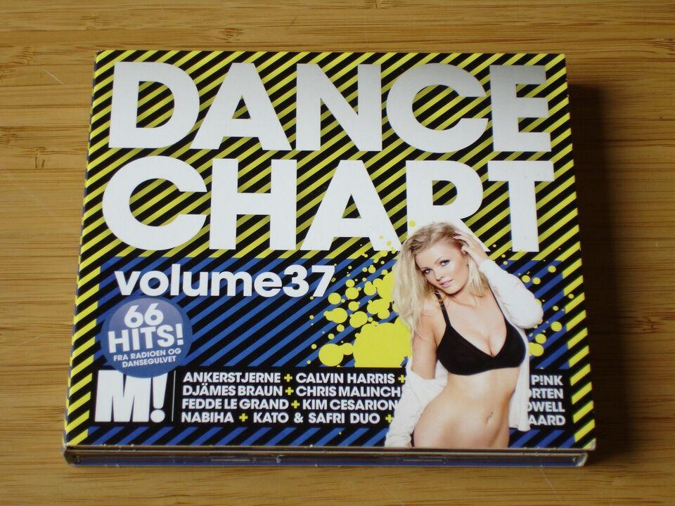 VARIOUS ARTISTS : DANCE CHART VOLUME 37, pop