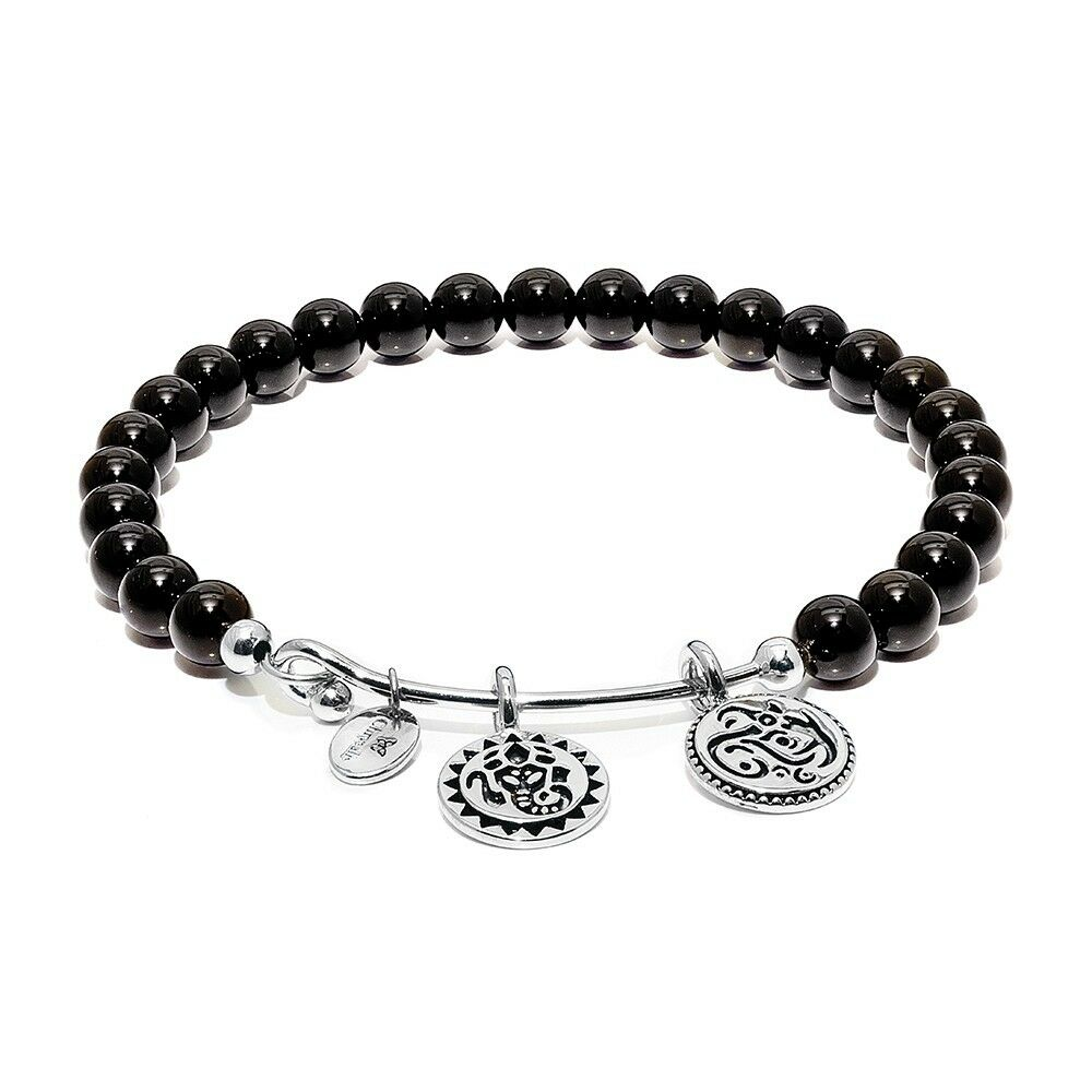 Bracelet Chrysalis Collection   Guardian   with Spheres Onyx