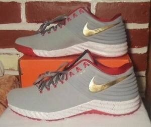 the best attitude 3dda3 0358c Image is loading NIKE-LUNAR-TROUT-2-TURF-TRAINER-SHOES-SZ-