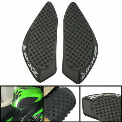 Tank Traction side Gas Pad Grips Protector For Kawasaki Ninja ZX6R 2009-2015