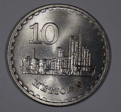 Paper Money: World Spirited Mosambik 10 Meticais 1980 Km#102 Hoch Grade Mo233 100% Guarantee Africa