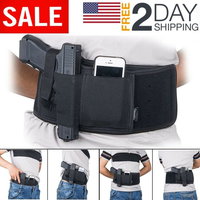 Security & Protection 2018 Outdoor Hunting Bags Tactical Pistol Concealed Belt Holster For Right Left Hands Glock All Compact Subcompact Pistols