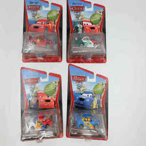 DISNEY-Pixar-Cars-2-SUPER-CHASE-RUSSO-RACER-Flash-MEMO-ROJAS-JR-lungo-GE-Toys