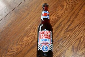 Richard-Petty-Long-Neck-Pepsi-Bottle-Most-Career-Victorie-039-s-200-2-VQ-28-series