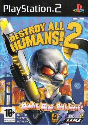 1 of 1 - Destroy All Humans 2 For PAL PS2 (New & Sealed)