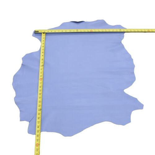 Leather Genuine Lambskin Hides Periwinkle Blue 1 1//2-2 1//2 oz Choose Size
