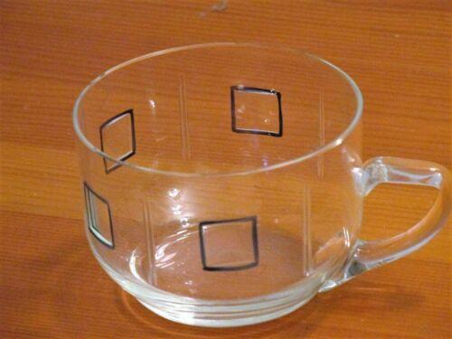 Bowlen-Set - Bowlenglas mit 6 Gläsern - 60er Jahre Design