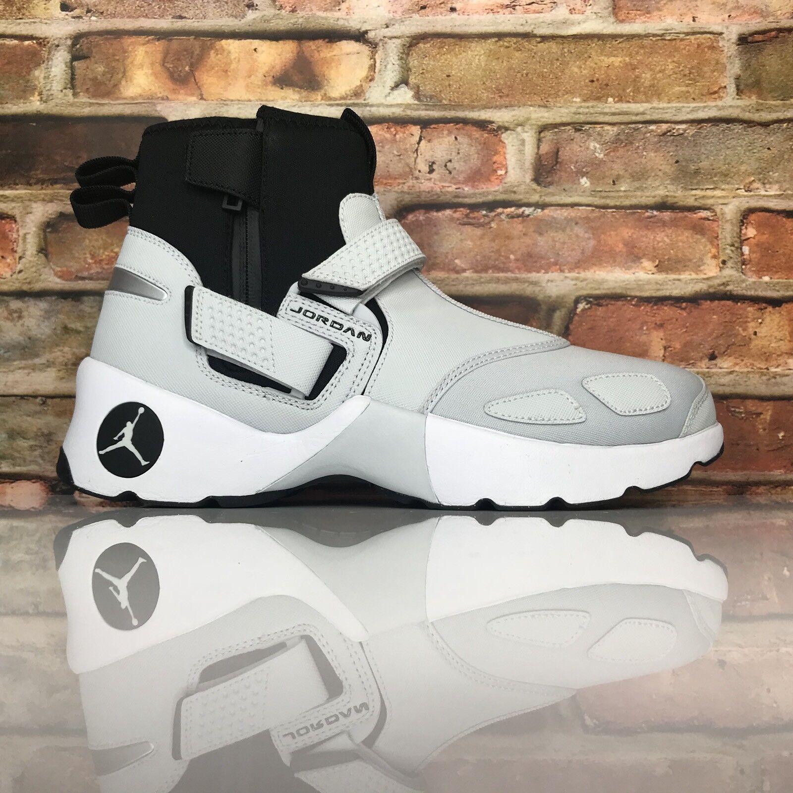 Jordan Trunner LX High Mens Size 10 Pure Platinum White Black  High Top