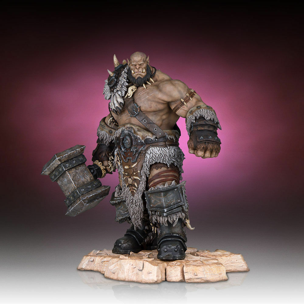 Gentle Giant Warcraft Statues 1 6 Scale Warcraft Movie Ogrim Statue Figure