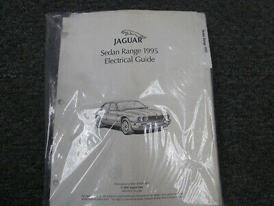 1995 Jaguar XJ XJ6 XJ12 XJR Sedan Electrical Wiring ...