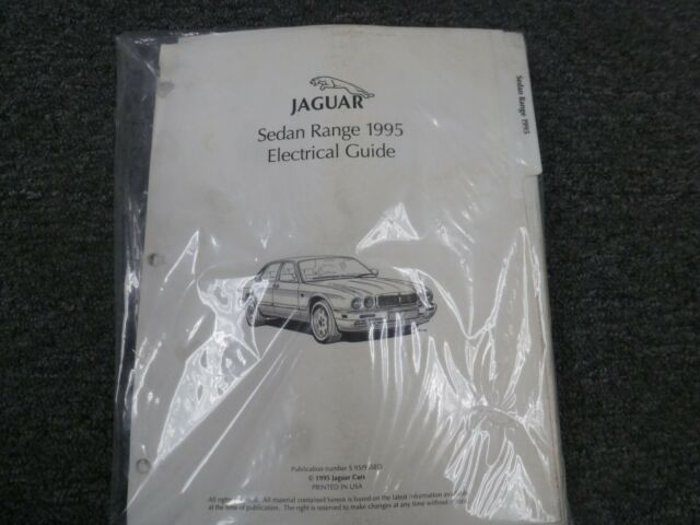 1995 Jaguar Xj Xj6 Xj12 Xjr Sedan Electrical Wiring