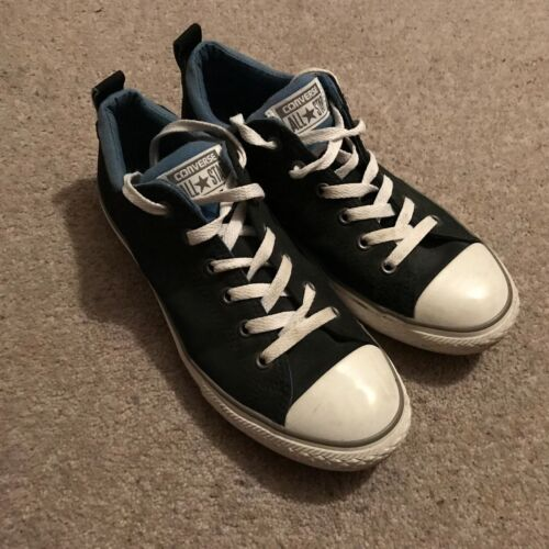 Shoes Canvas Grey Dark All Star Trainers Womens 5 Uk 5 Converse 01COnp8