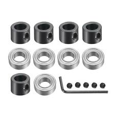 5pcs Bearings Accessory Kit Bearings Stop Ring Fit For 14 Shank Router Bit