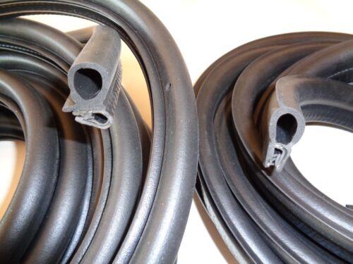 COFFRE SEAL Set 4 portes Ford Escort MK2 PORTE 1 Boot Top Brit O.e Qualité NOUVEAU *