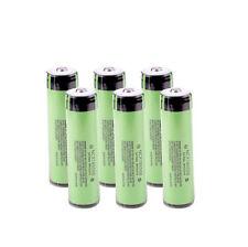 6pcs Original Panasonic Protected NCR18650B 3400mAh Battery with PCB Japan Made