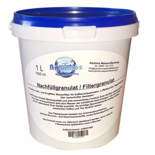 1 L Nachfüllgranulat passend DeLonghi DLSC002 SER3017 Wasserfilter
