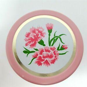 Vintage-Avon-Carnation-Cream-Sachet-Vanity-Jar-Original-Box-Partially-Full