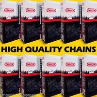 "10 Pack 25"" Oregon Chisel Chains, 3/8 Pitch 050 Gauge, 84 Links,Fits Stihl,Husky"