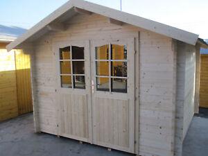 Holzfußboden Gartenhaus ~ Gartenhaus bremen d blockhaus gerätehaus ca.300x400 cm breit mit