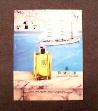 [GCG] M966 - Advertising Pubblicità - 1984 - ROTHSCHILD POUR HOMMES D'EXCEPTION