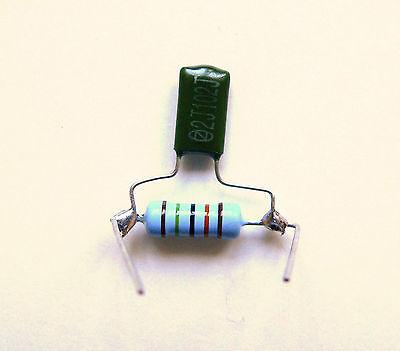 treble bleed kit fits fender telecaster stratocaster. Black Bedroom Furniture Sets. Home Design Ideas