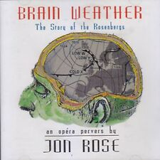 Jon ROSE Brain Weather CD Opera Pervers ReR Blegvad Shelley HIRSCH Phil MINTON