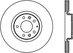 Disc-Brake-Rotor-Mazdaspeed-Front-Right-Stoptech-127-45073R-fits-2006-Mazda-6
