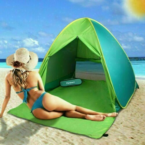 Anti-UV Portable Pop Up Beach Tent Sun Shelter Outdoor Camping Shade Hiking Tent
