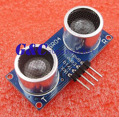 4PCS HC-SR04 Arduino Ultrasonic Module Distance Measuring Transducer Sensor New