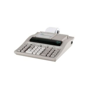OLIVETTI-LOGOS-352-professionnel-imprimer-Calculatrice-de-bureau-avec-12-faire