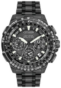Citizen Eco Drive Men's Promaster Chronograph GPS Titanium 47MM Watch CC9025-85E