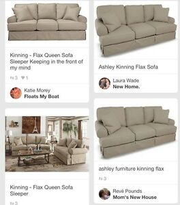Image Is Loading Ashley Furniture Kinning Flax Sofa Couch