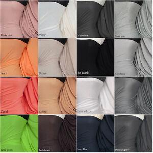 100-COTTON-stretch-light-cotton-jersey-PLAIN-FABRIC-lightweight-material
