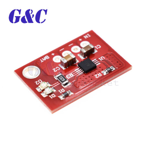 Mini Solar Lipo Charger Board CN3065 Lithium Battery Charge Chip DIY Outdoor