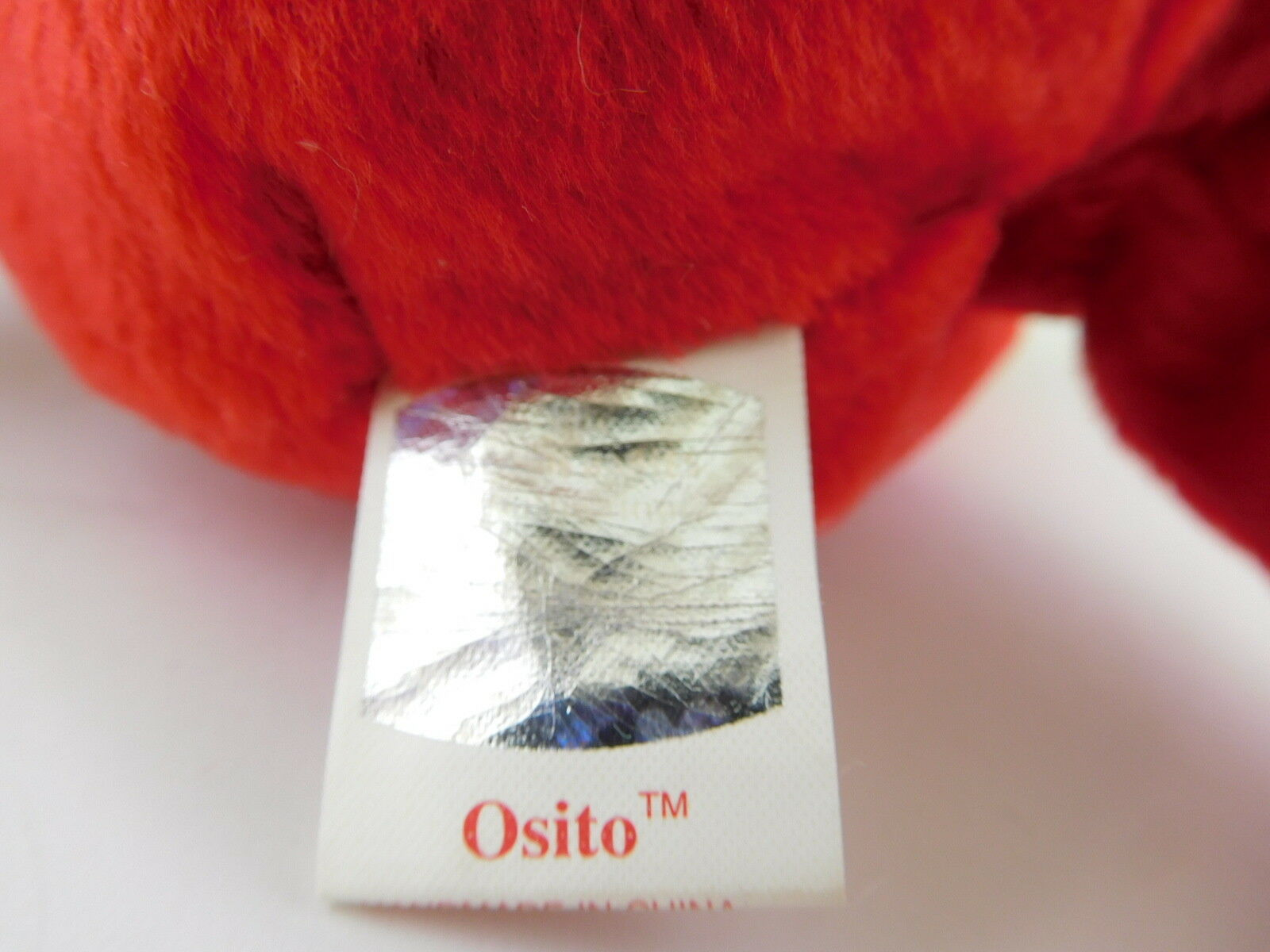 Very Rare Osito Ty Beanie Beanie Beanie Baby High End Due to 'Errors' on Tags New with Tags 3fa500