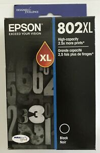 New-Epson-Genuine-Ultra-T802XL-High-Yield-Ink-Sealed-RETAIL-BOX