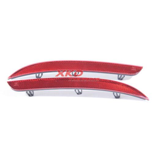 2X Right /& Left Rear  Bumper Trim Reflector For VW CC 13-17 # 3C8945105D//106D#
