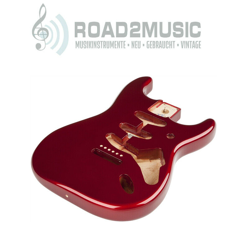 Fender Classic SSS Alder Body Series 60s Stratocaster Candy Apple rot 0998003709