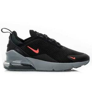 black & white air max 270 trainers youth