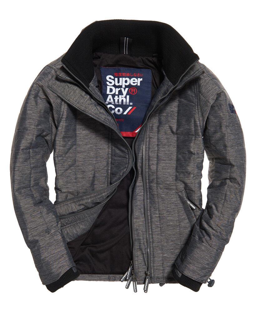 Superdry Veste à matelassage Athletic SD-Windcheater Pour homme Noir