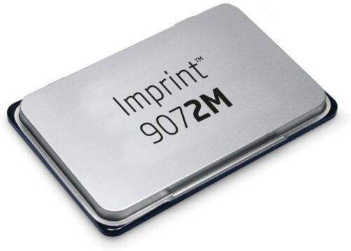 Metall Imprint 9072M Stempelkissen Größe 11 x 7 cm Schwarz