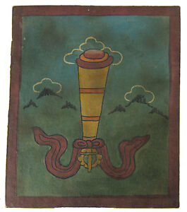 Tsakli -debby Quadro Iniziatico Lama Tibetano Mongolia Tibet- 7007