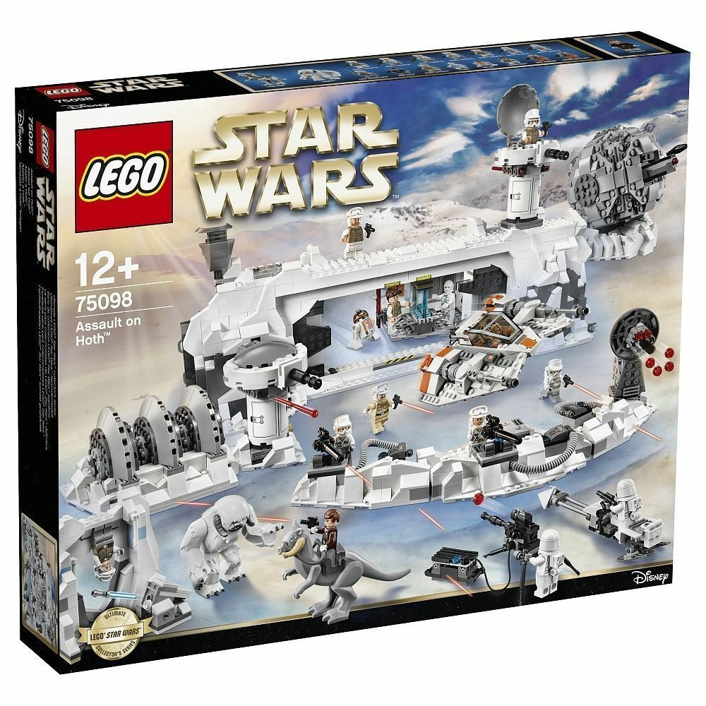 LEGO ® Star Wars ™ 75098 Assault on Hoth ™ esclusivo UCS-Set Collectors Nuovo/Scatola Originale