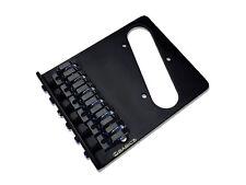 Babicz Full Contact Hardware Z Series Tele Bridge Black FCHZTLSBK