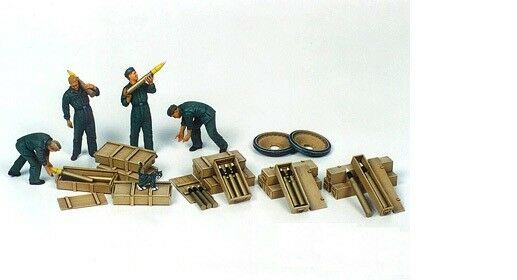 Tamiya 35188 - 1/35 Figuren Set Panzer / Munition Ladetruppe - Neu